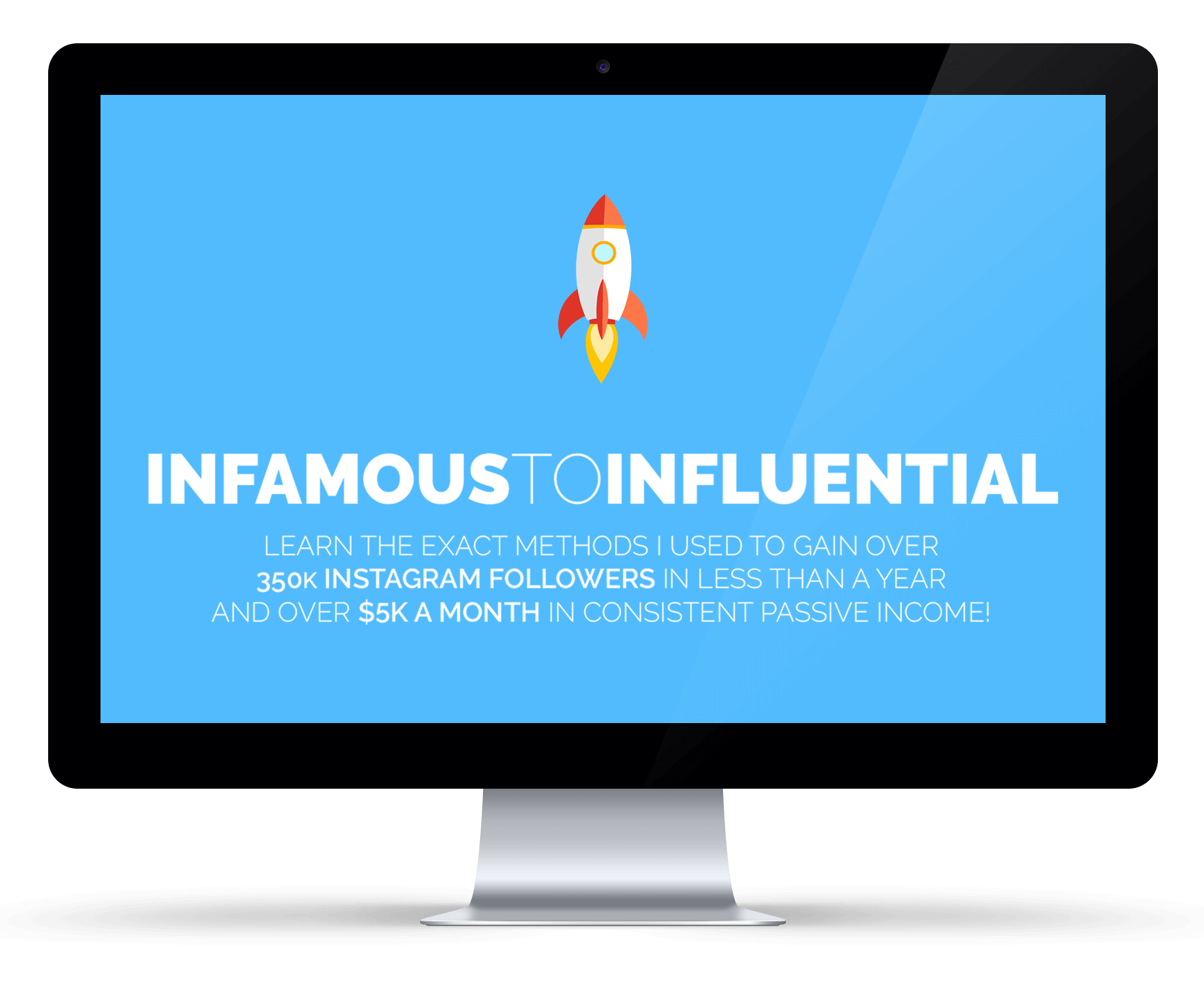 Infamous to Influential - Instagram Course