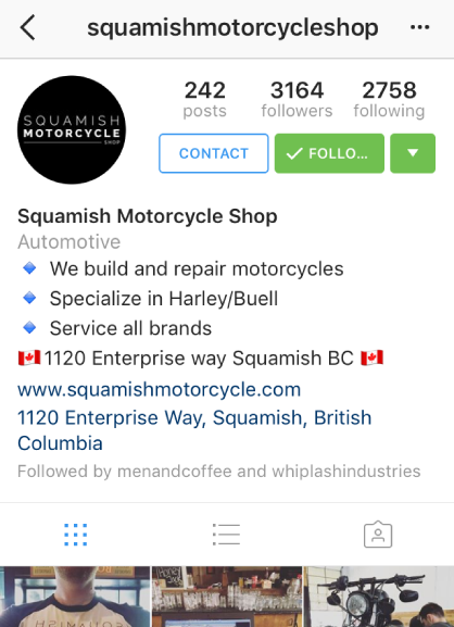 Instagram Business Profiles by Alex Tooby