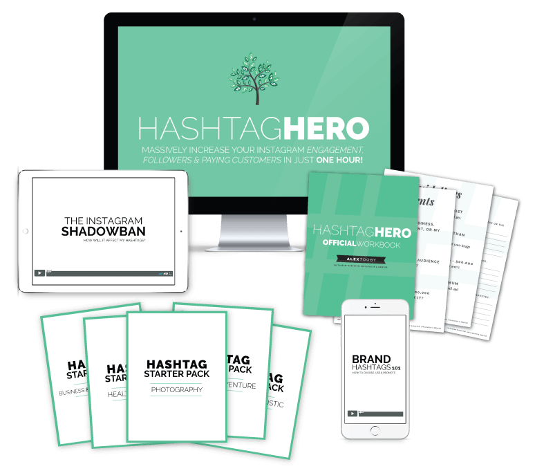 Instagram course - hashtag hero