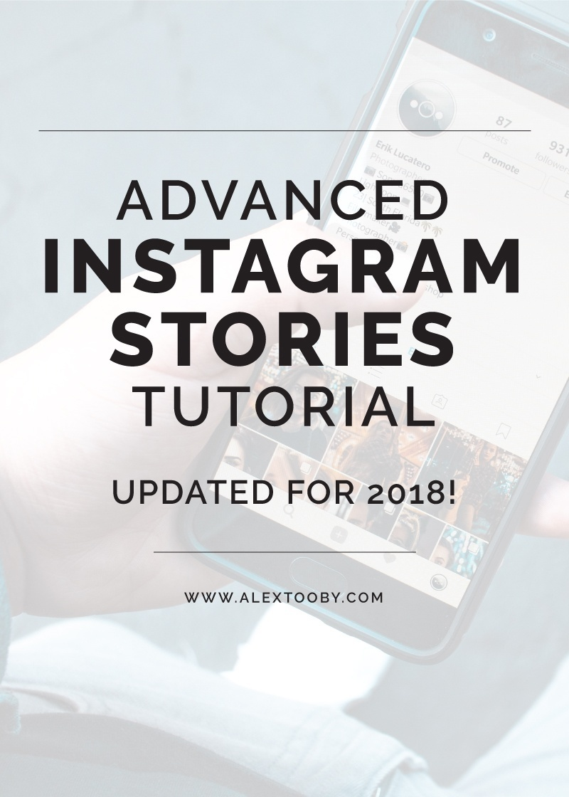 instagram stories features tutorial