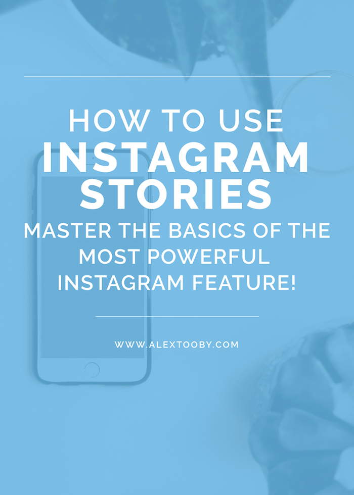 Not sure how to use Instagram stories? No worries! Learn how to use and take advantage of Instagram Stories with this easy to follow tutorial by Alex Tooby