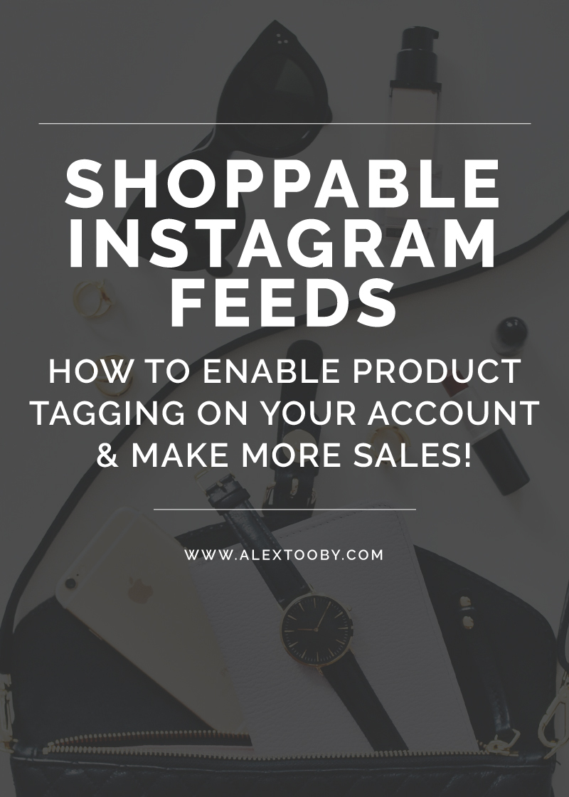 Want to make more sales on Instagram? You need a shoppable Instagram feed! Learn how to tag products in your posts with this tutorial by Alex Tooby