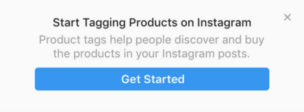 shoppable instagram - getting started