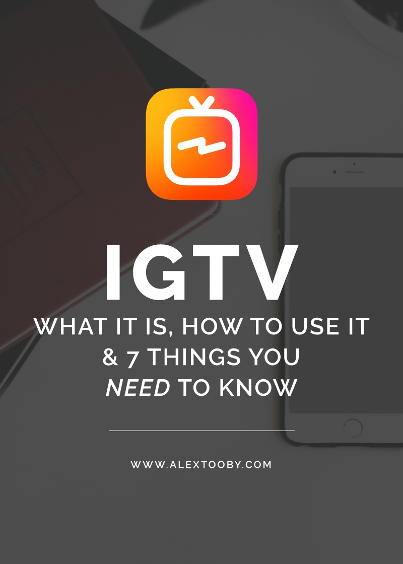 Curious about Instagram's new addition, IGTV? Well you should be! Can it really rival YouTube? Is it worth investing time in? How do you even use IGTV? Read this blog post by Instagram expert, Alex Tooby for all the IGTV details!