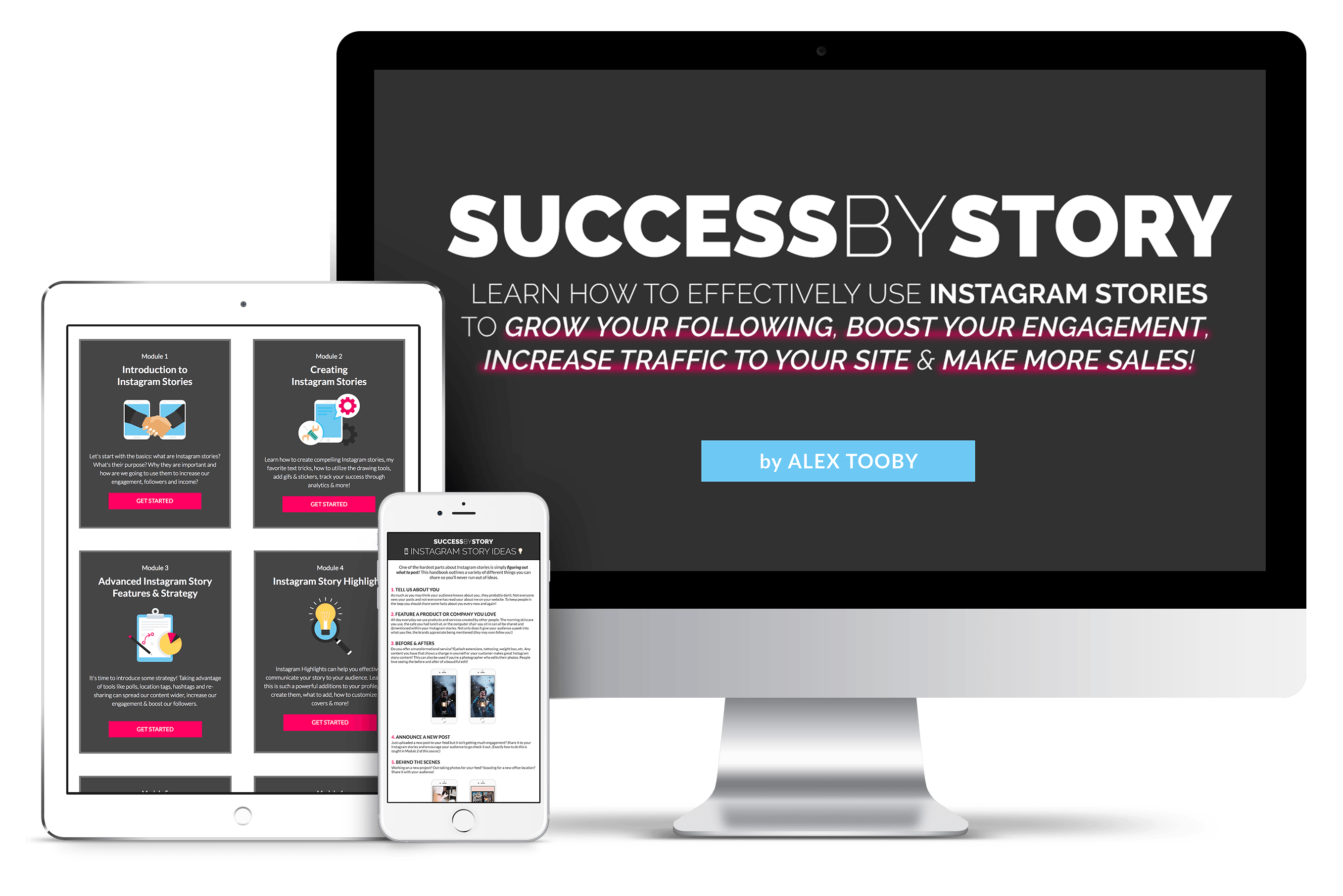 Instagram Stories Course - Success By Story
