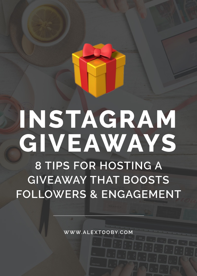 Hosted an Instagram Giveaway but it was a total flop? Chances are you didn't follow these tips! Read to learn how to run a successful Instagram giveaway!