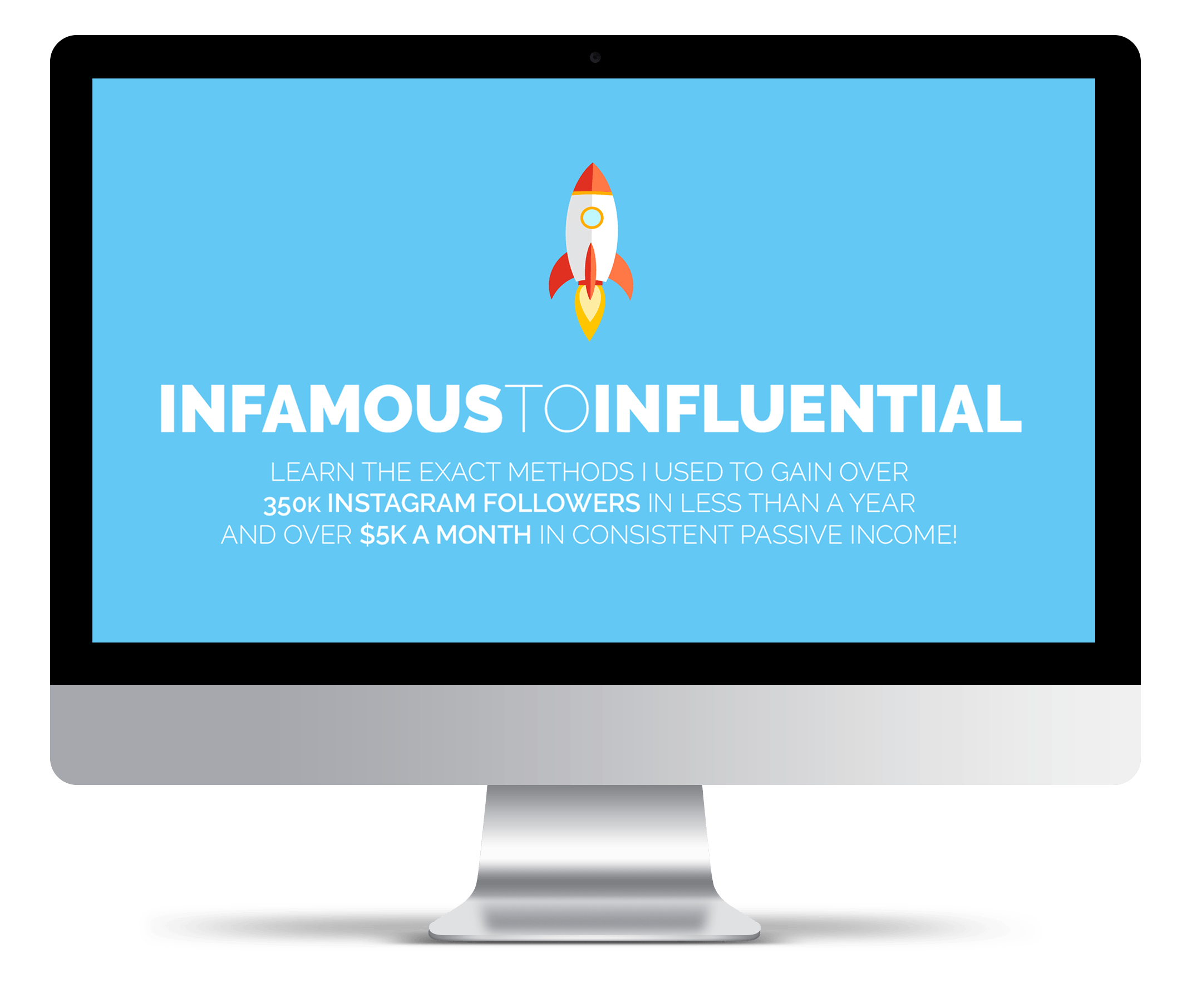 Instagram course - infamous to influential