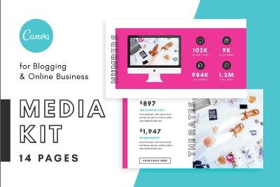 instagram tools blogger media kit canva