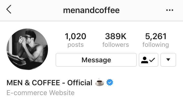 how to get verified on instagram - menandcoffee