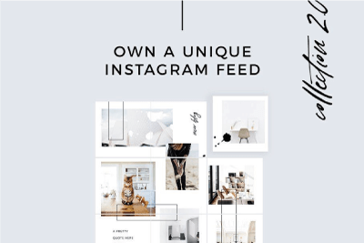 instagram tools puzzle feed template