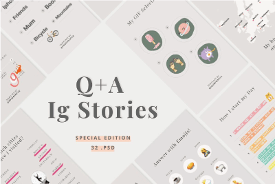 instagram tools q&a stories templates