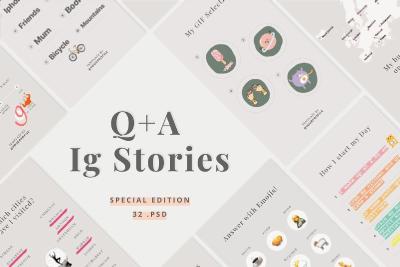 instagram tools q&a stories templates