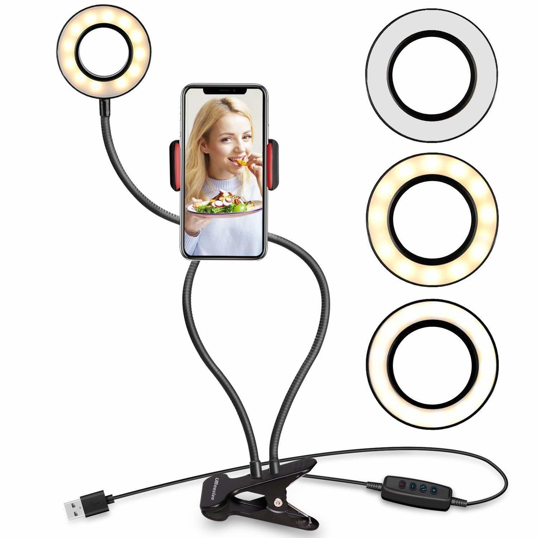 instagram tools selfie ring light with phone holder