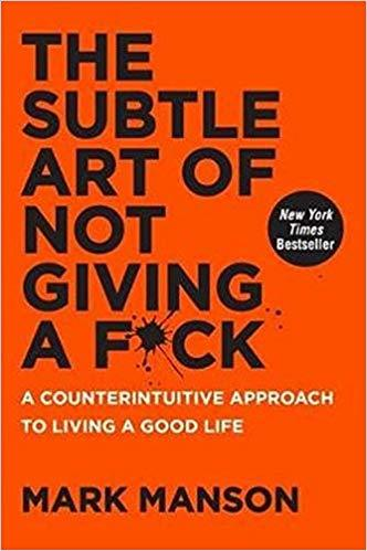 instagram tools subtle art of not giving a fuck mark manson