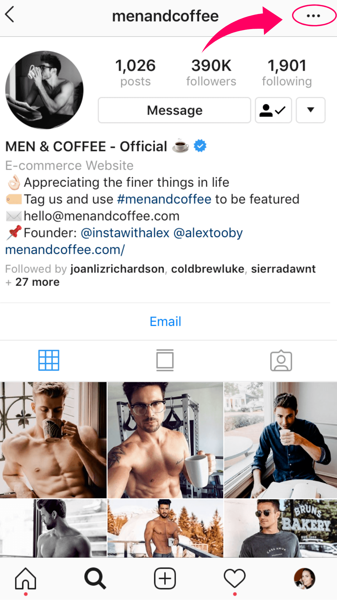 new instagram updates - about this account feature