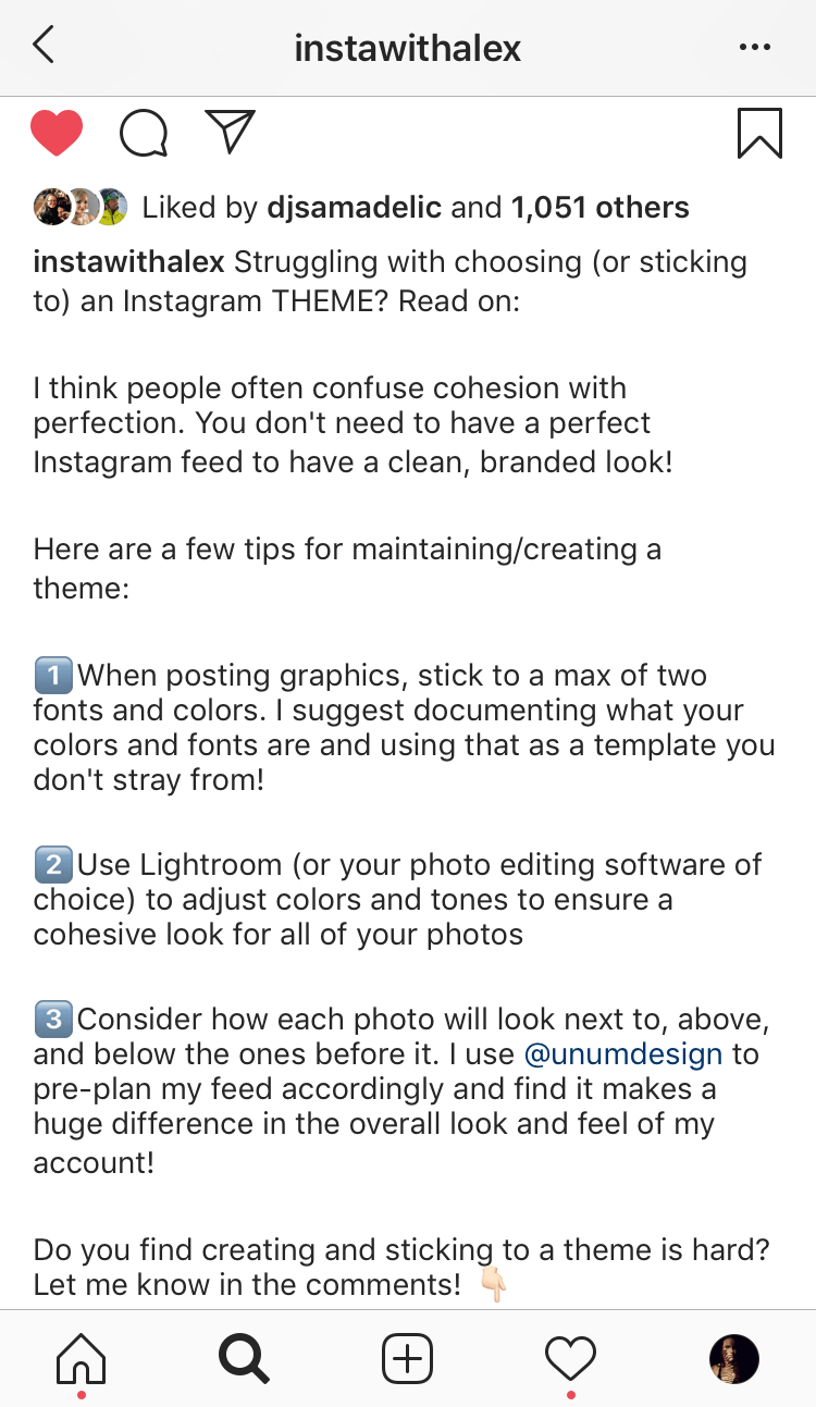 how to get more likes on instagram - valuable caption