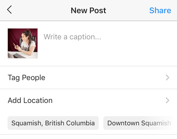 how to get more likes on instagram - geo locations