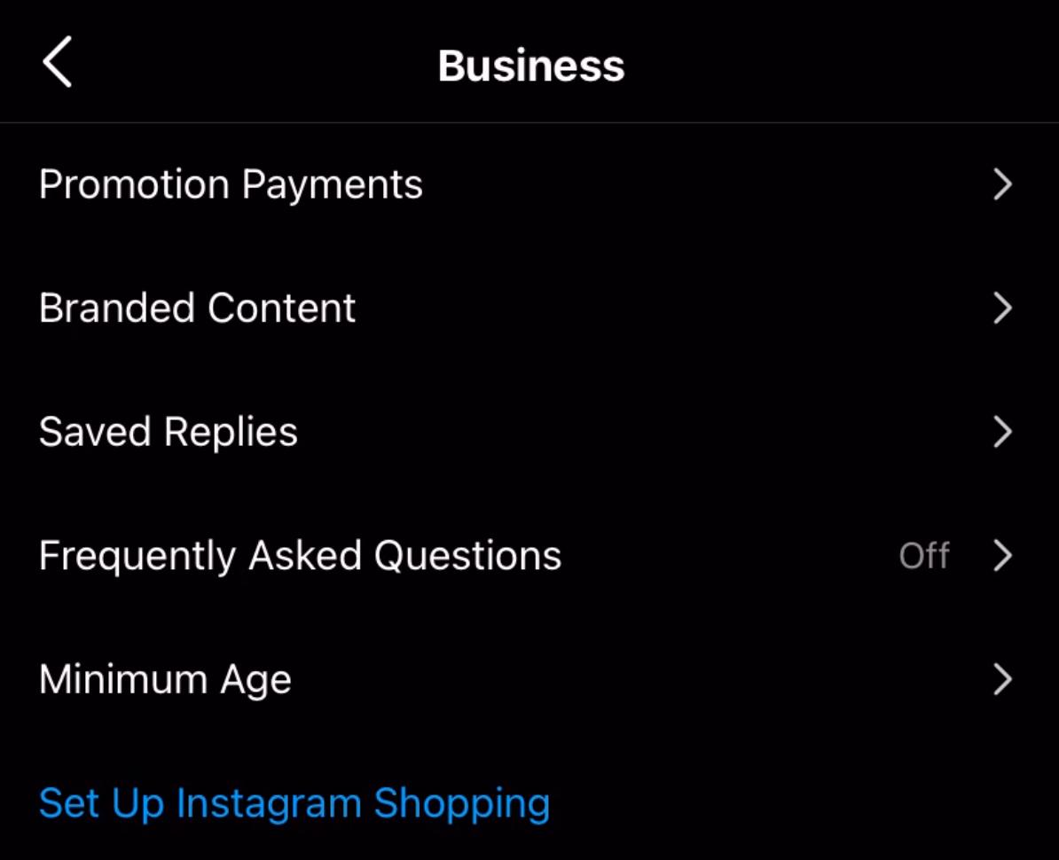 shoppable Instagram feeds - facebook shop tutorial